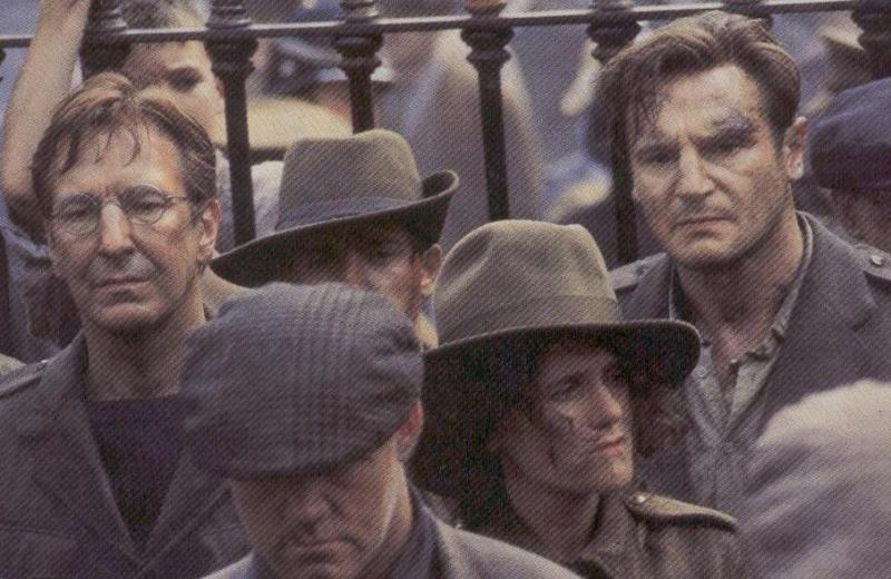 Collins and DeValera in the film