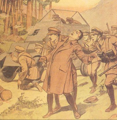 Sketch of the assassination